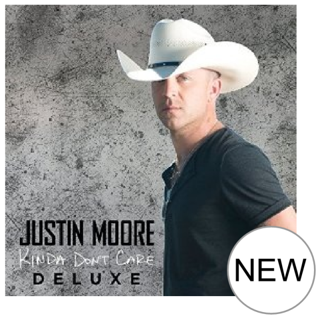 Justin Moore CD- Kinda Don't Care DELUXE