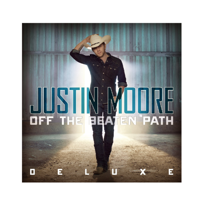 Justin Moore DELUXE CD- Off the Beaten Path